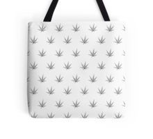 Tote Bag - This pot leaf pattern, marijuana design is clean looking and understated, but still lets your appreciation for cannabis show.