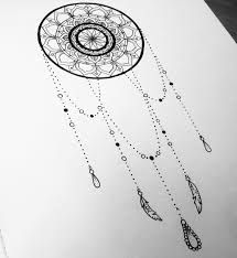 Dream catcher with delicate chains