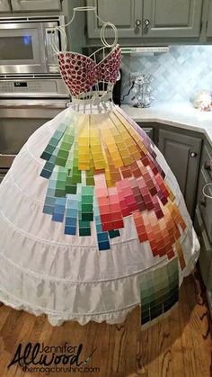 paint chip swatches