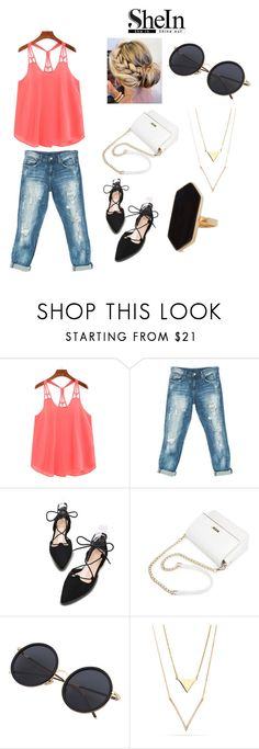 """Untitled #99"" by luciacampbell ❤ liked on Polyvore featuring Sans Souci and Jaeger"
