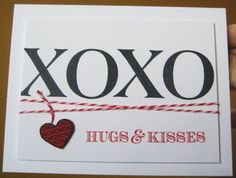 Hugs & Kisses by Zoie - Cards and Paper Crafts at Splitcoaststampers