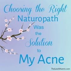 Solution to my acne