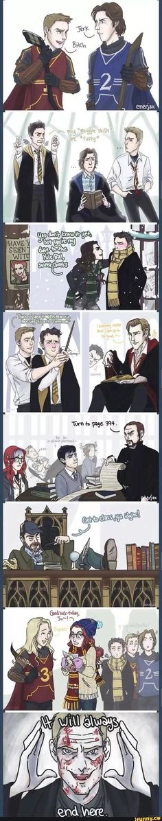 A very Harry Potter Supernatural/// THIS IS AWESOME