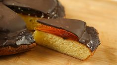 Giant Jaffa cake recipe