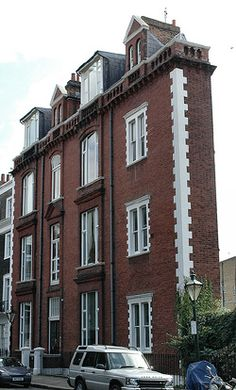 The thin house in London, UK