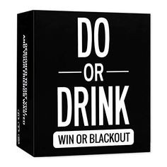 Do or Drink Game - Drinking Cards - Fun & Dirty Adult, Dare or Shots for College, Camping, Birthday Night, or Pregame Pass Out Party - Funny & Beyond for Men & Women Party Card Games, Adult Party Games, Adult Games, Night Knight, Drunk Games, Alcohol Games, Drinking Games For Parties, Drinking Games Cards, Dare Games