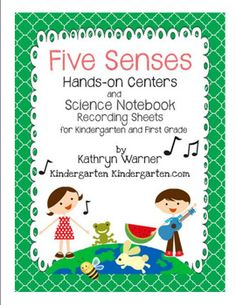 Five Senses Hands-On Centers and Science Notebook Recording.  Looks like a good resource + may have writing activities.