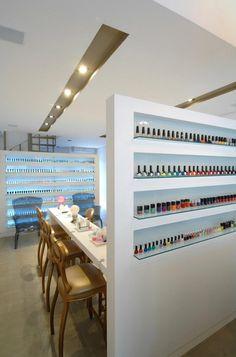 Pietra Nail Bar: love this nail bar design
