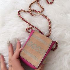 CHANEL RARE PONY HAIR CIGARETTE CROSSBODY BAG 100% AUTHENTIC I didn't put a picture of the code because it is deep in the bag and I can mess it up ... Also if you have questions or concerns just ask:) CHANEL Bags
