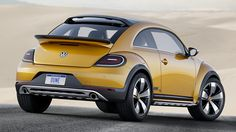 Coming from Volkswagen's latest line of limited edition Bugs is the 2017 Volkswagen Beetle Dune Convertible that is supposed to… #Gadgets