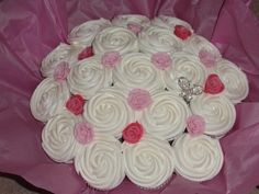 Deluxe cupcake bouquet By aliciabrown87 on CakeCentral.com