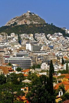 Athens Lycabettus Hill, Greece