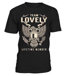 Team LOVELY - Lifetime Member