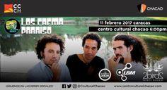 """Los Crema Paraíso llegan al Centro Cultural con su """"Joropo Psicodelico"""" http://crestametalica.com/los-crema-paraiso-llegan-al-centro-cultural-con-su-joropo-psicodelico/ vía @crestametalica"""