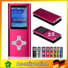 16G 16GB MP3/MP4 Player Video Musik FM Radio Stereo e-Book Spiele, Neu 16GB Pink | eBay Radios, Mp4 Player, Ebay, Games, Phone, Movies, Book, Music, Telephone