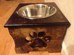 "Elevated Dog Feeder - 10"" Height - 4 Quart bowl - Single"