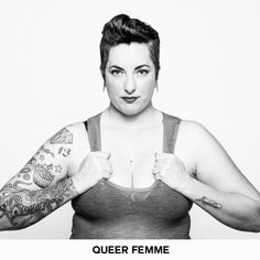 """""""The Identity Project"""" by Sarah Deragon. She seeks to explore the labels we choose to identify with when defining our gender and sexuality. Her portraits show the amazing diversity and vibance of a queer community that for too long has been defined by outsiders."""