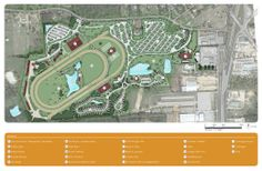 Nacogdoches TX Resort and Equestrian Center Master Plan with Horse Race Track