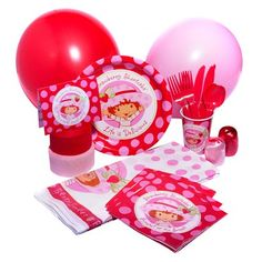 Strawberry Shortcake Party Kit
