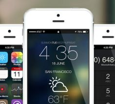 Anti-Thème, un thème pour iPhone Jailbreak iOS 7