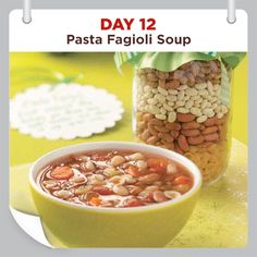 25 Days of Christmas Cheer :: Day 12 :: Pasta Fagioli Soup Mix Recipe