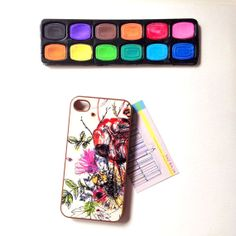 Abstract Floral iPhone 4/4S Case £5.00 ONLY! #sale
