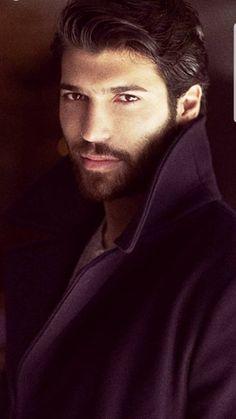 i truly love you Can, Sandra Turkish Men, Turkish Actors, Beard Quotes, Black Dagger Brotherhood, Kellan Lutz, Beard Styles For Men, Beard Tattoo, Male Magazine, Bearded Men