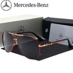 d4e7d1ba41 Man Polarized Benz Sunglasses Mercedes Driving Glasses Designer Men BRAND  BOX !  fashion  clothing