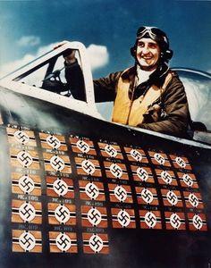 """P 47 D.   F Gabreski """"Gabby"""""""