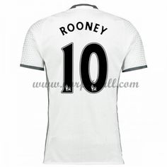 Billige Fotballdrakter Manchester United 2016-17 Rooney 10 Tredje Draktsett Kortermet Manchester United Trikot, Premier League, The Unit, Tops, Soccer Jerseys, Shell Tops