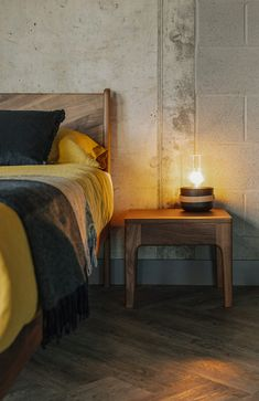 Camden bedside table from Natural Bed Company.