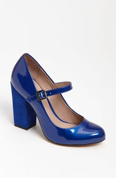Vince Camuto 'Vionet' Pump | Nordstrom    These can be my something blue, and I love Mary Janes!
