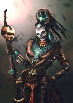 Voodoo Priest by IngaSiebert on DeviantArt Vodoo Tattoo, Larp, Papa Legba, Inka, Witch Doctor, Dark Fantasy Art, Fantasy Witch, Character Design Inspiration, Mythical Creatures