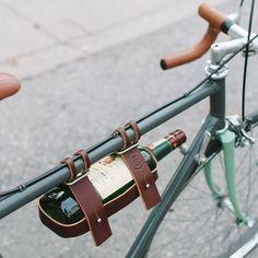 Praktische Rad-Accessoires aus Leder