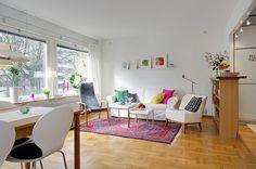 Inspiração décor – 43 salas de estar escandinavas modernas!