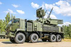 Nézz orosz harcjárműveket gyönyörű képeken Panzir-S1
