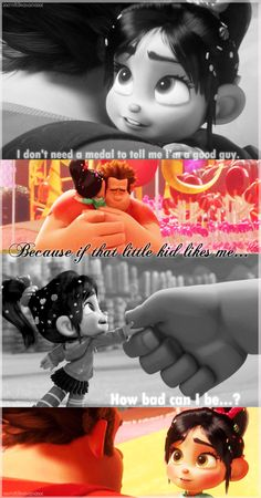 Ralph and Vanellope by ~IsmaelHedgehog