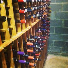 """Yes, we have an actual """"Wine Cellar"""" and it's stocked and ready to go!"""