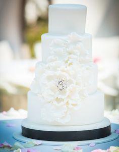 Elegant Wedding Cake.