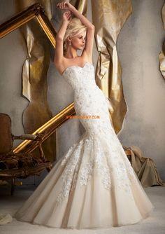 Sjöjungfru Tyll Höst Bröllopsklänningar 2014