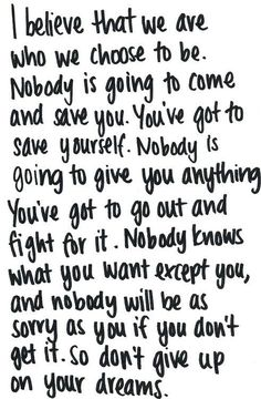 Well said!  #inspiration #motivation