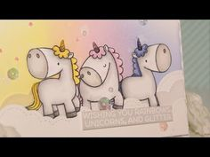 Light Up LED Card - My Favorite Things & Chibitronics - Cardmaking tutiorial - YouTube