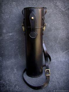 Мужские сумки ручной работы. Тубус кожаный мод.3, защитный, для оружейной оптики. Labour. Интернет-магазин Ярмарка Мастеров.