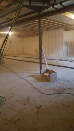 Luxury Spray Foam Insulation Basement