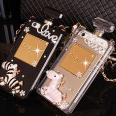 ゼブラ シャネルiphone6ケース 香水ビン iPhone6 plus保護カバー 彼女のプレ #iphone6ケース  #香水 #brand #prefume #n5 #chanel #fashion #luxury