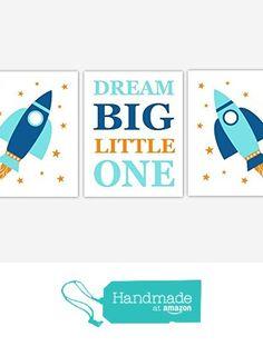 Space Themed Nursery, Baby Nursery Decor, Nursery Themes, Nursery Wall Art, Childrens Room Decor, Big Little, Baby Boy Nurseries, Dream Big, Kids Room