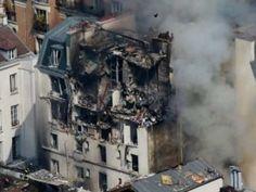 17 la cifra de heridos por una explosión de gas en París