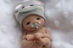 ~ OOAK A Must See Newborn Baby Girl * GABRIELLA* Mouse Theme ~ 1 Day ~