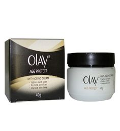 Natural remedies mantra: Olay anti aging creame.