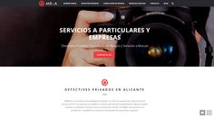 Diseño web Alicante: M&R Detectives Privados - Coodex